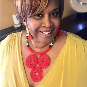 TBB Boutique Jewelry - New💕 Beautiful Queen Inspired Zulu Necklace